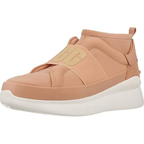 UGG Women's W Neutra Sneaker, Suntan, 7.5 M US