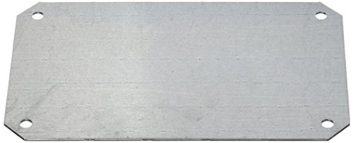 Schneider Electric NSYPMM1827 Placa de Montaje Metálica para Caja PLS 18x27cm
