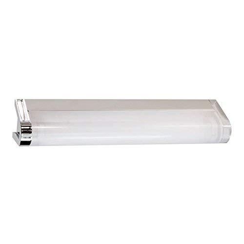 Espejo Lámpara Espejo Lámpara Akino Estado de ánimo luz T521W cromo, longitud: 90cm