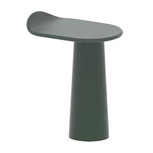 NYKK Mesa de personalización de personalización de la Moda 22.8''H Muebles de decoración Casa Sala de Estar Balcón Mesa Mesa de Centro (Color : Green)
