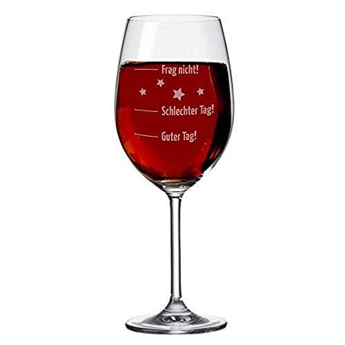 XL Weinglas mit Gravur von Leonardo/Stimmungsglas 630ml mit Gravur