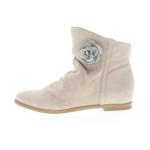 SPM dames laarzen Yaylala Ankle Boot Blush Beige nubukleder 23208864010100109018