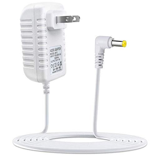 "Digital Calendar Day Clock Power Adapter,AC/DC 5V Power Adapter Compatible with JALL/American Lifetime/SVINZ 8"" Large Screen Display Digital Calendar Alarm Day Clock Power Supply"