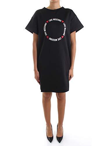 Love Moschino Kleid Vestido Casual  Black  46 para Mujer