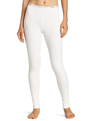 Duofold Women's Mid Weight Double Layer Thermal Leggings, Winter White, Large from Hanesbrands - Duofold