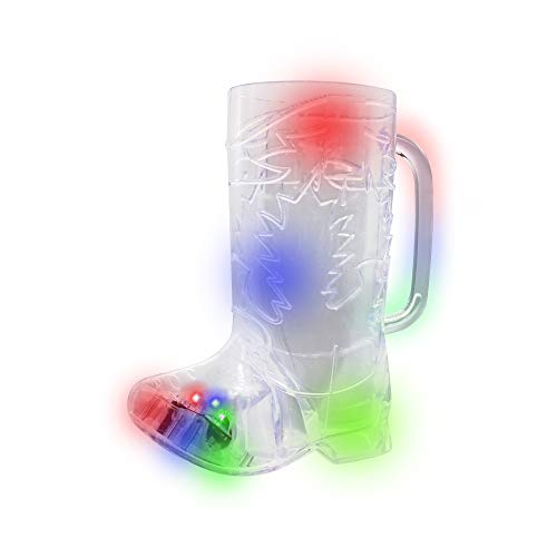 plastic boot beer glass - 2