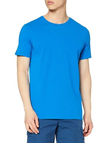 Marca Amazon - find. Camiseta Deporte Básica Hombre, Azul (Imperial Blue), S,...