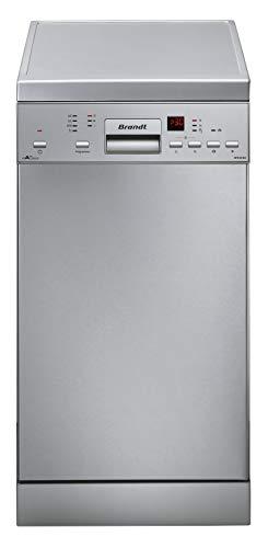Brandt DFS1010X Autonome 10places A+++ lave-vaisselle - Lave-vaisselles (Autonome, Acier inoxydable, Compact (45 cm), Acier inoxydable, boutons, LED)