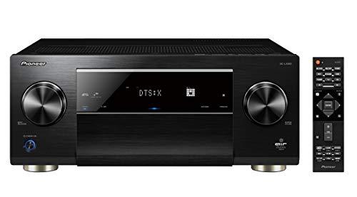 Pioneer 9.2 Kanal AV Receiver, SC-LX801-B, 200 Watt/Kanal, Heimkino, Multiroom, Dolby Atmos/TrueHD, WLAN, Bluetooth, Streaming, Musik Apps (Spotify, Deezer u.a.), Radio, Schwarz