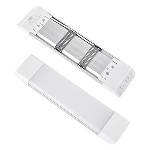 Lámpara de techo LED, 18 W, 3600 lm, lámpara de techo regulable, iluminación de fondo cuadrada de 31,5 cm regulable 3000 K/4000 K/6500 K, para armarios de cocina, techos, trasteros, sótanos, garajes