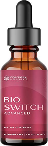 Science Natural Supplements: BioSwitch Advanced - Liquid Nutritional Drops with Raspberry Ketone - 120 Servings (2 fl. oz.) - Suitable for Keto and Low Carb Diet - Made in The USA