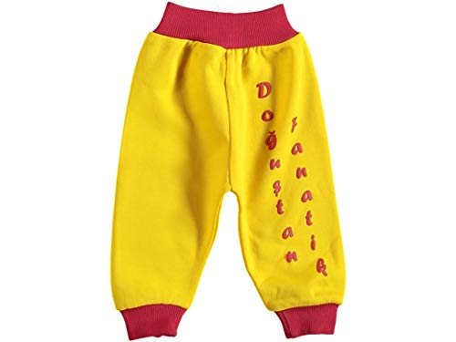 generisch Baby Hose Taraftar Dogustan Fanatik Gelb Rot Sari kirmizi (80)
