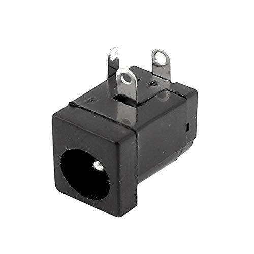 New Lon0167 Socket Jack Destacados hembra de fuente eficacia confiable de alimentación de CC de 5,5 x 2,1 mm de tipo barril para montaje en PCB(id:df6 90 cf 3c4)