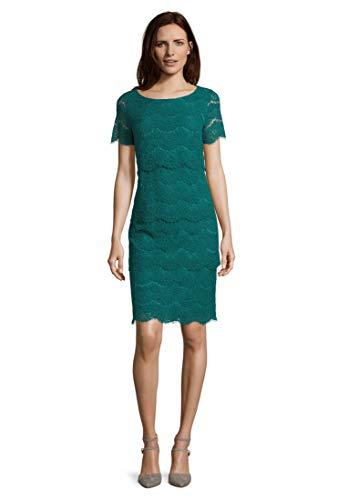 Vera Mont Damen 0018/4851 Kleid, Grün (Green Ivy 5488), (Herstellergröße: 44)
