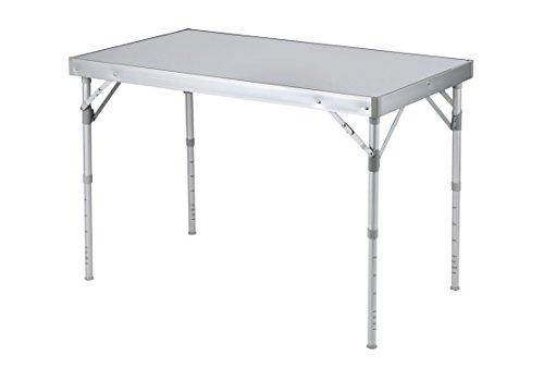 Bo-Camp massiv Alu Camping table-100X 60cm, grau, 100x 60x 70cm