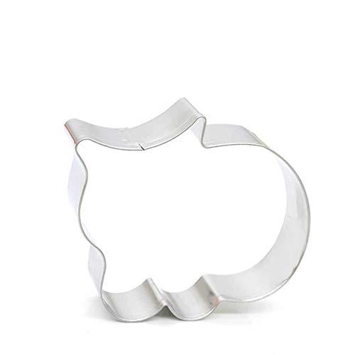 Forma del gato de la magdalena del molde la pasta de azúcar del molde del cortador de la forma del gato de Navidad de la torta que adorna las herramientas pasta de azúcar cortador molde hornada