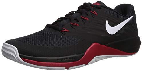 Nike Men's Lunar Prime Iron II Sneaker, Black/White - Anthracite - Gym Red, 11 Regular US