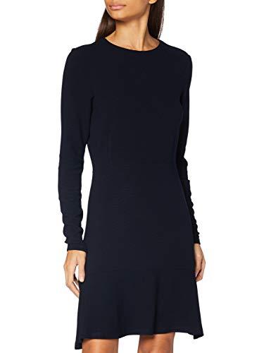Scotch & Soda Maison Womens Sweat-Kleid aus Rippstrick Casual Dress, Night 0002, XS