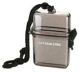 キャプテンスタッグ(CAPTAIN STAG) 防水 クリアケース クリアブラック M-9358