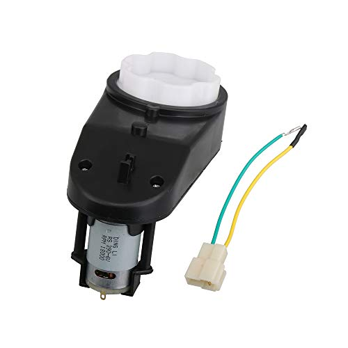 NICELEC 6V 390 18000RPM Gearbox with Motor for Kids Powered Ride Drive Engine