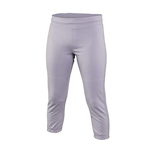 Easton Womens Zone Pant, Gray, X-Large