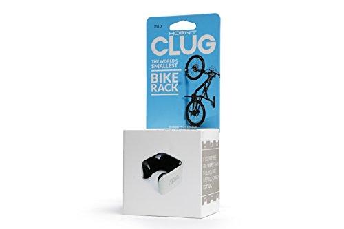 Clug CLUGLWHBK Fahrradhalterung, White/Black, 44-57 mm