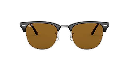 Ray-Ban Clubmaster RB3016-W3387 Gafas, Negro, 49 Unisex Adulto