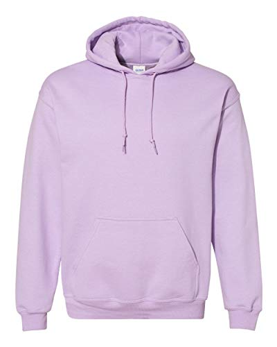 Gildan Mens 7.75 oz. Heavy Blend? 50/50 Hood (G185) -Orchid -2XL