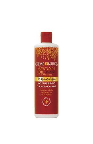 Creme of Nature Argan Oil MOISTURIST & Shine Curl Active Cream 354ml