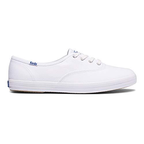 Keds Damen CHAMPION ORG CORE CANVAS Sneaker, weiß, 39.5 EU