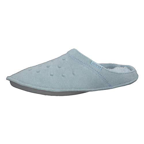 Crocs Classic Slipper, Zapatillas Bajas Unisex Adulto, Azul (Mineral Blue/Mineral Blue...