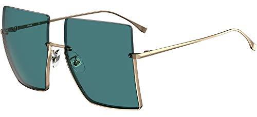 FENDI Gafas de Sol FF FAMILY FF 0401/S Gold/Blue 60/18/135 mujer