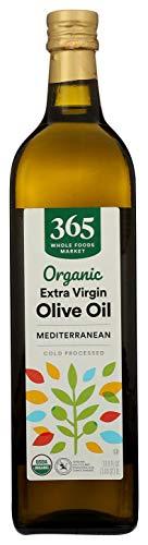 365 by WFM, Oil Olive Extra Virgin Mediterranean Organic, 33.8 Fl Oz