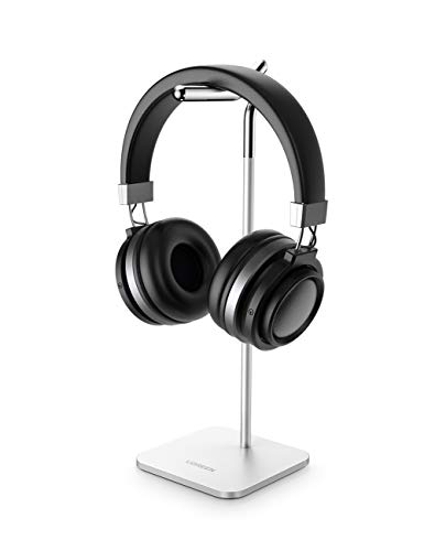 UGREEN Headphone Stand Aluminum Gaming Headset Holder Earphone Hanger Compatible for Sennheiser PXC 550, Sony MDR-1000X, Bose QC35, Beats solo3, AKG K612, Audio-Technica