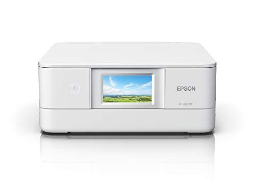 エプソン プリンター インクジェット複合機 カラリオ EP-883AW ホワイト(白) 中