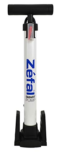 Zefal Bicycle Smart Pump (80 PSI, Schrader and Presta Compatible)