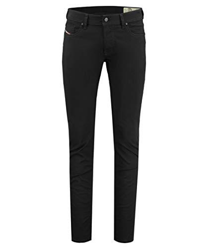 Diesel Sleenker Jeans Uomo Denim Black 32 L32