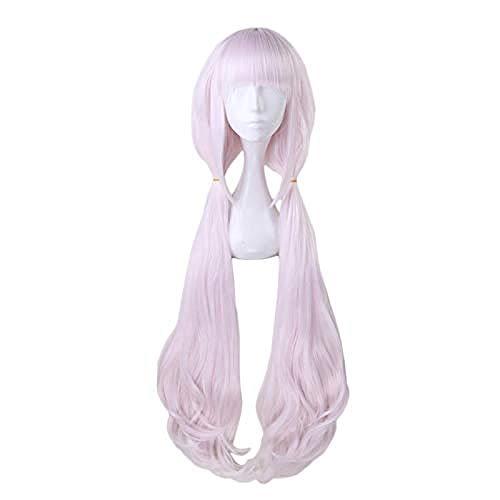 Nekopara Chocolat Vanilla Long Wig Cosplay Costume Heat Resistant Synthetic Hair Women Wigs