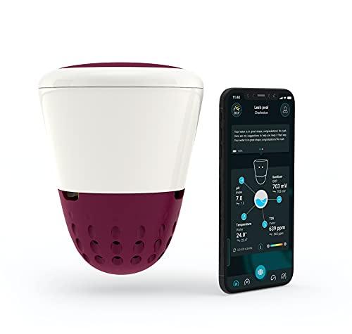 ONDILO – ICO Spa – Analyseur d'Eau Connecté Intelligent pour Jacuzzi – Connecté à Votre Smartphone - Anticipe Les Variations de l'Eau - pour Tous Les Spas : Chlore – Brome
