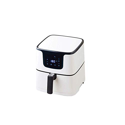 TRYSHA 1700W lucht Fryer, Smart Oil-Free Electric Fryer, 5.5L grote capaciteit French Fries mini-oven, Timer en Temperature Control, non-stick mandje olievrije friteuse