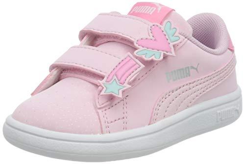 PUMA Smash v2 Unicorn Baby Sneaker Pink Lady-Pink Lady UK 8.5_Infant_FR 26