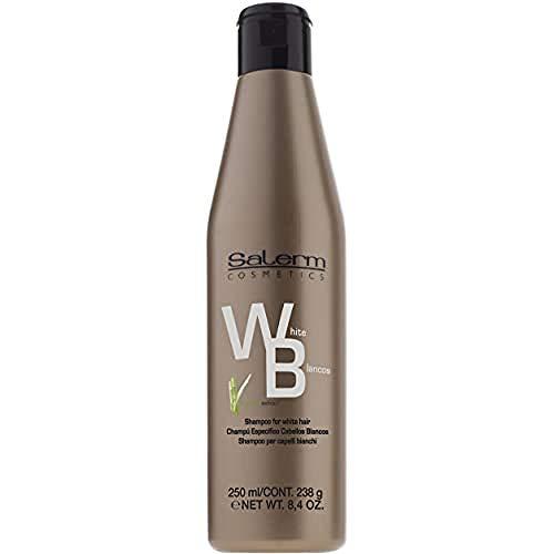 Salerm Cosmetics White Hair Champú - 250 ml