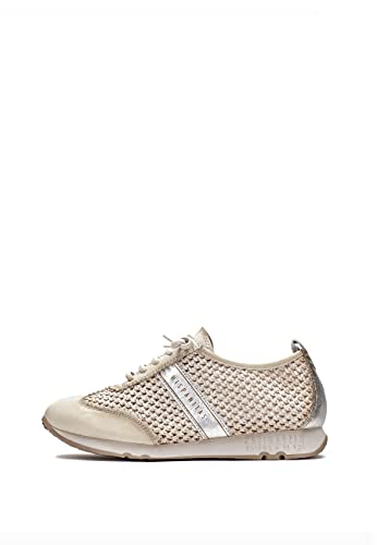 Hispanitas Kaira Zapatillas Moda Mujeres Beige - 37 - Zapatillas Bajas Shoes