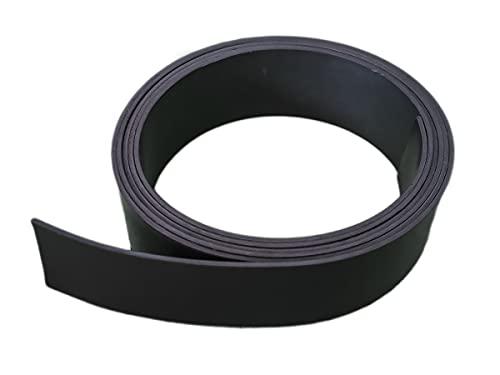 Cinta magnética 2 x 100 cm, tira magnética de 20 mm de ancho, rollo largo de 1 metro, sin adhesivo