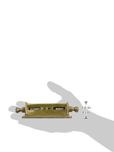 PLアンティーク風AUTENTICOブラスダイヤルカレンダー62709