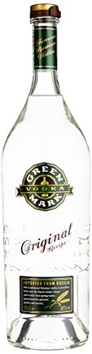 Green Mark Vodka - 38% Vodka (1 x 0,7l) - Russischer Vodka nach Traditionsrezept