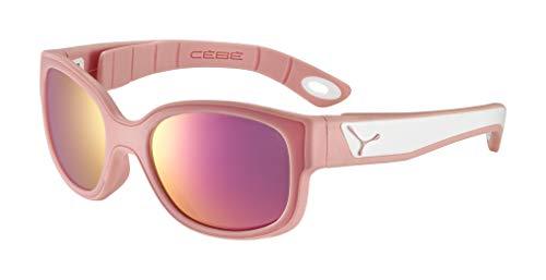 Cébé Baby S'Pies zonnebril, mat roze poeder wit, 3>5