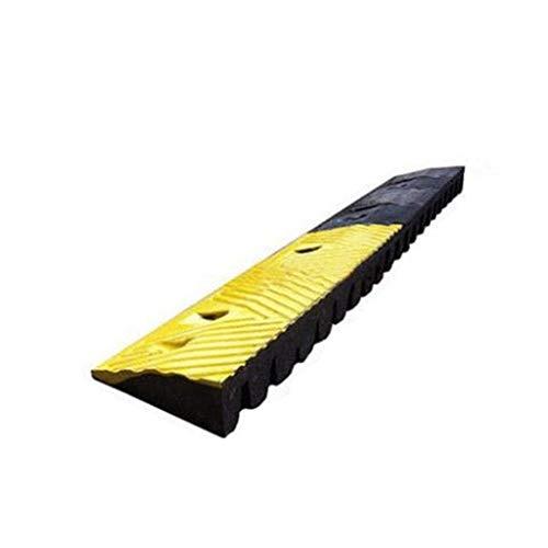 Outdoor Reflecterende Rubber Ramps, Garage Safety Ramps Household driehoekige Ramps rolstoelen Ramps/Stevige Bottom Design / 100 * 16 * 6.5cm Curb Ramps