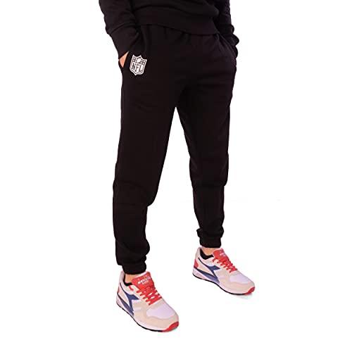 New Era Jogginghose - Limited Edition - grau und schwarz - NFL Logo, Los Angeles Lakers, Chicago Bulls (NFL Logo Black, 52, l)