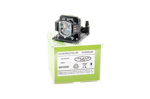 Alda PQ-Premium, Lámpara de proyector Compatible con DT01181, DT01251, DT01381 para HITACHI BZ-1, CP-A220N, CP-A221N, CP-A221NM, CP-A222NM, CP-A222WN Proyectores, lámpara con Carcasa
